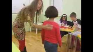 Copiii invata engleza la Britanica Learning Centre