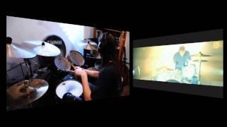 Coldplay - Clocks (Royksopp Remix) HD (drum cover)