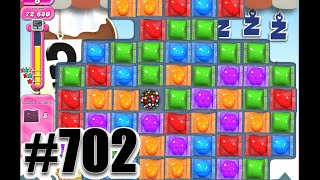 Candy Crush Saga Level 702 | COLLECT 20 WRAPPED CANDY. Complete!