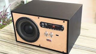 Ev Yapımı Ses Sistemi - Bluetooth Özellikli Basslı Hoparlör