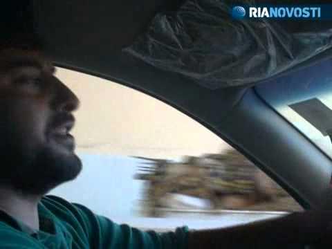 Libyan rebel shows RIA Novosti reporter around Gaddafi-free Musaid