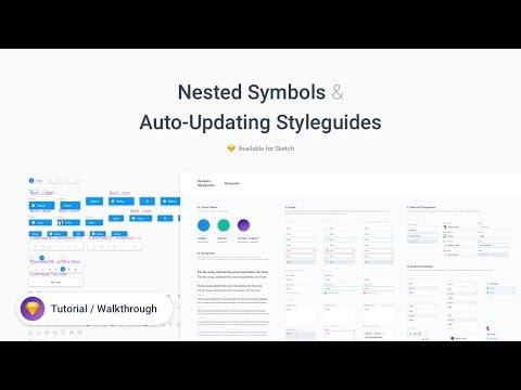 Symbols & Styleguides - Sketch Freebie Tutorial