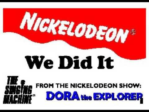 SM9923 13 Dora The Explorer We Did It [karaoke]