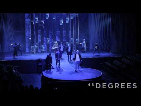 Canning Conveyor 45 Degrees, Cirque du Soleil - Moscow Winter Show 2015 - Dance Performance