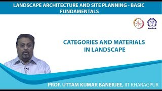 Categories and Materials in Landscape
