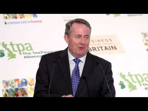 Liam Fox on the new government