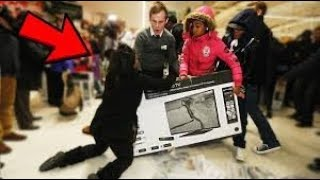 Compilation Bagarres Black Friday 2017 (VIOLENT)