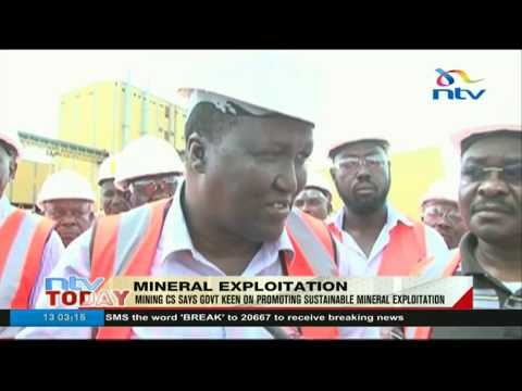 Mining CS Says Government Keen On Promoting Sustainable Expolitation