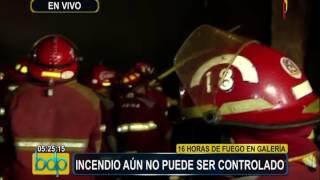 Incendio en Las Malvinas lleva más de 20 horas y aún no logra ser controlado (1/3)