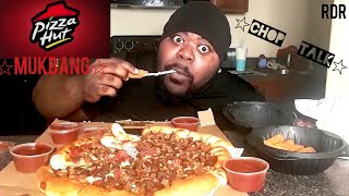 ☆☆Pizza Hut Mukbang☆☆(Chop Talk)[Eating Show]!!!