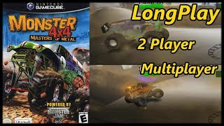 Monster 4x4: Masters of Metal - Longplay 2 Player Multiplayer All Off Road Maps (No Commentary)
