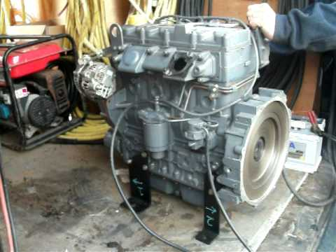 Brand New Deutz Diesel Engine 48 Hp 36kw 4 Cylinder Youtube