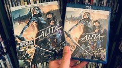 Alita: Battle Angel BLU RAY REVIEW + Unboxing