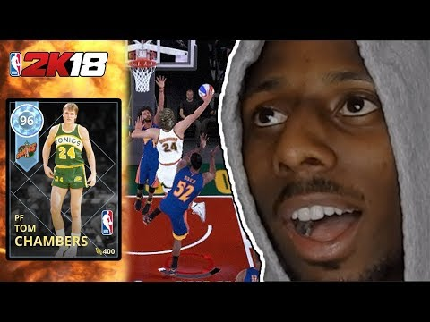 MyTeam 2K18! Diamond Tom Chambers Gameplay!
