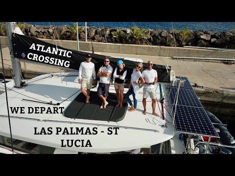 Ep 24. Atlantic crossing Pt 2. Las Palmas - St Lucia (Sailing Susan Ann II)