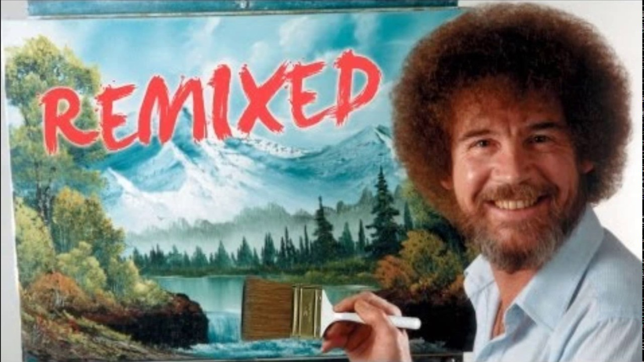 Bob Ross Remixed | Happy Little Clouds | Complete Song ...