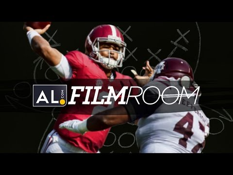 Film Room: Jalen Hurts is becoming a dangerous passing threat for Alabama