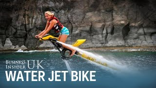 This water jet bike can fly 40 feet in the air