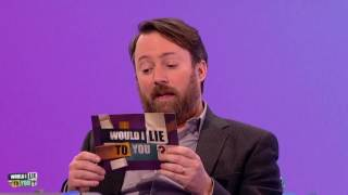 Idiosyncrasies of Mitchellian existence - David Mitchell on Would I Lie to You?