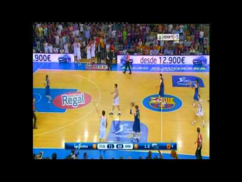 FC Barcelona Regal vs. Real Madrid (Spanish League Finals # Game 5 - last 3 minutes)