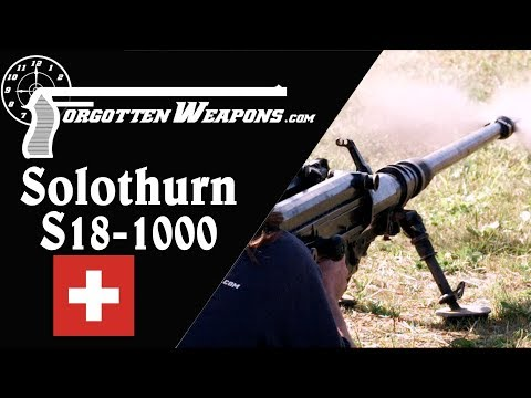Download Youtube: Solothurn S18-1000: The Pinnacle of Anti-Tank Rifles