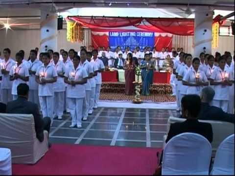 & Nightingale Institute Noida Lamp Lighting Ceremony 2011 - YouTube azcodes.com