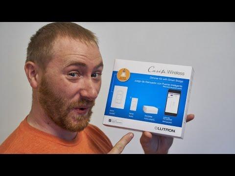 Lutron Caseta Wireless Dimmer Kit Review