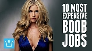 10 Most Expensive Celebrity Boob Jobs