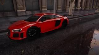 GTA 5 Audi R8 V10 Plus 2017