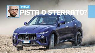 Con la Maserati Levante V8 cosa fareste: LAUNCH CONTROL o OFFROAD?