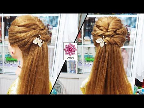 Kiểu Tóc Cô Dâu Tóc Dài - Hướng Dẫn Cách Làm Tóc Cho Cô Dâu Mặc Áo Dài Trẻ Trung Xinh Đẹp - Kiểu 104