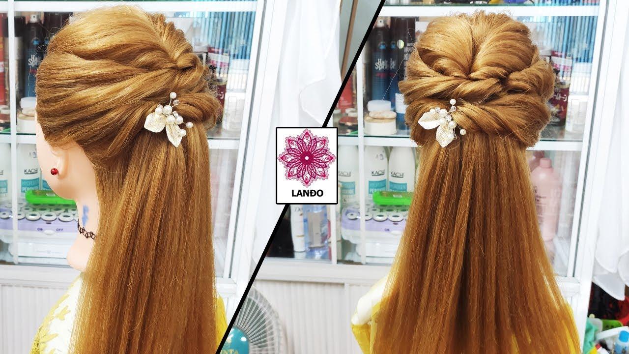 Kiểu Tóc Cô Dâu Tóc Dài – Hướng Dẫn Cách Làm Tóc Cho Cô Dâu Mặc Áo Dài Trẻ Trung Xinh Đẹp – Kiểu 104   Tổng hợp kiến thức về tóc đẹp mới nhất