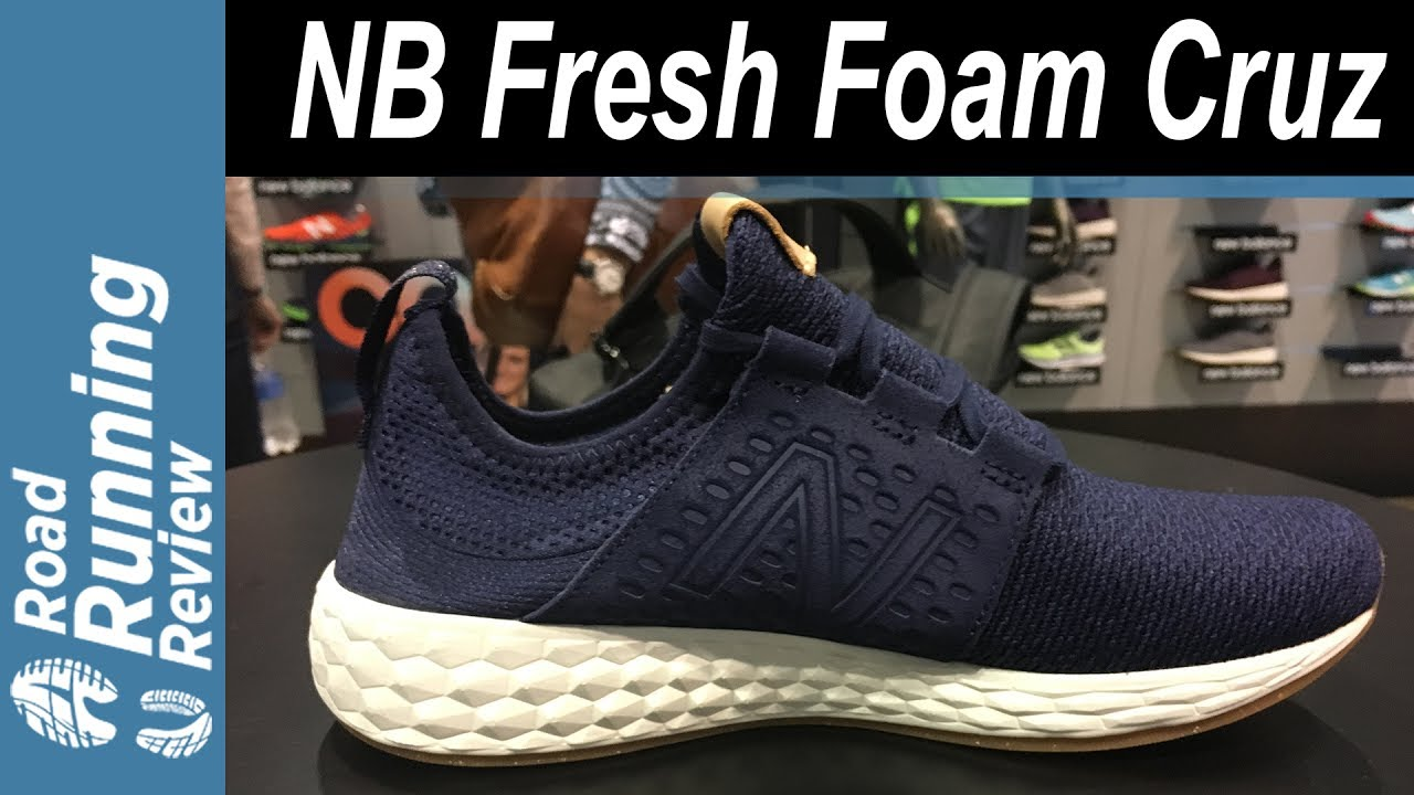 new balance fresh foam cruz 2