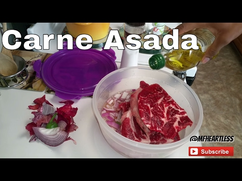 How to Make Carne Asada Marinade