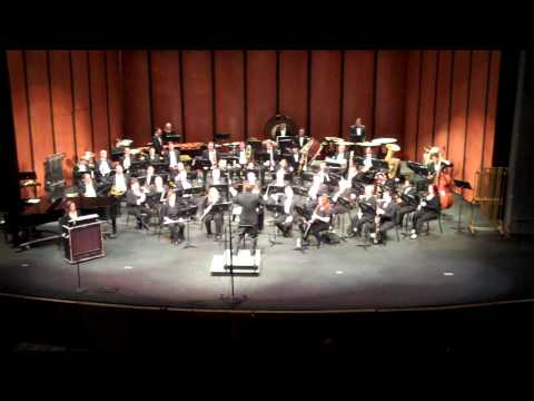Chabot College Wind Symphony - Angels in the Architecture