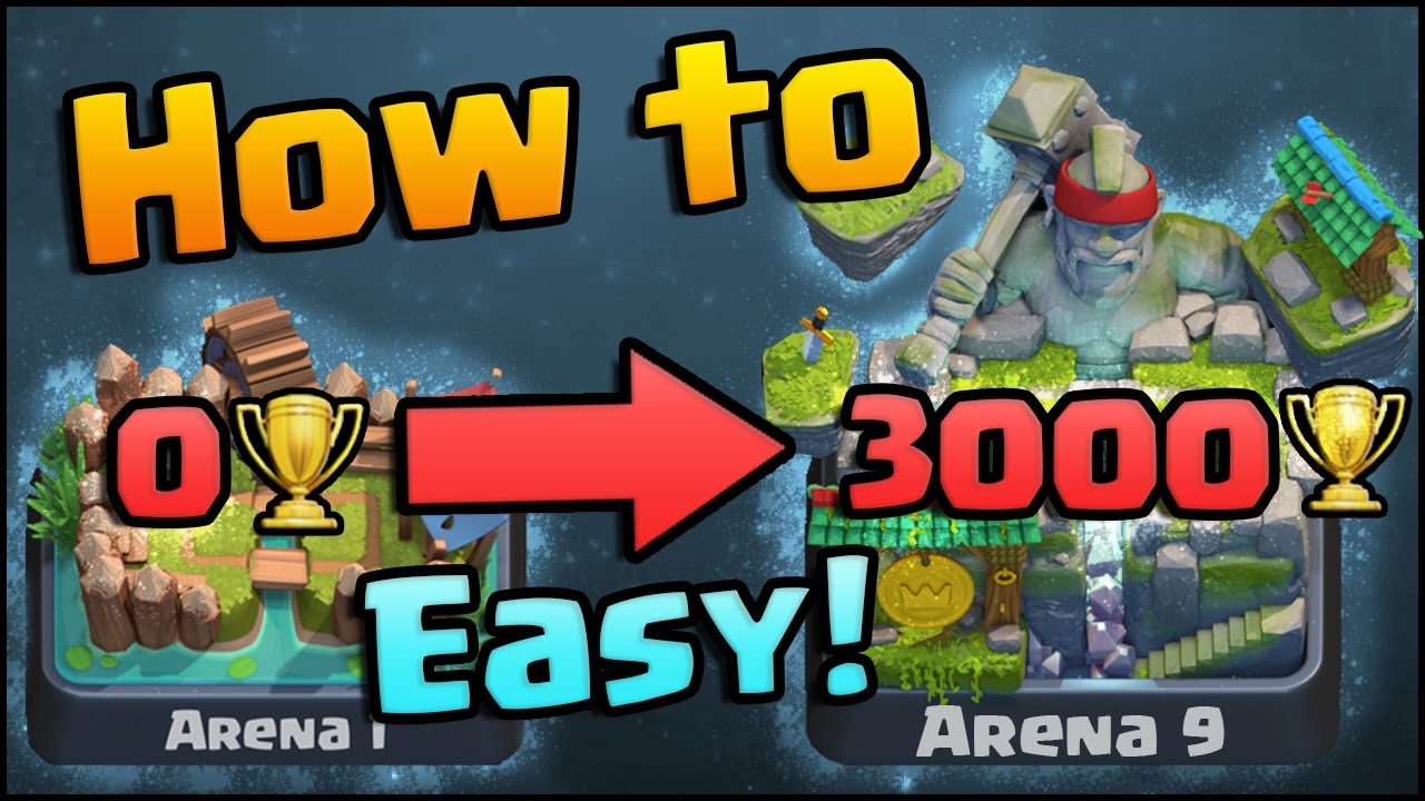 How To Get To Arena 9 Legendary Arena
