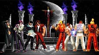 Kof Mugen Iori-Kyo Team VS Ryu-Ken Master Team