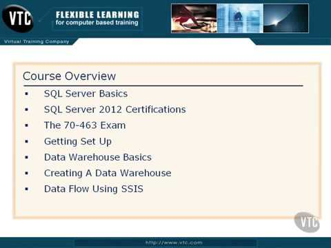 Implementing a Data Warehouse with SQL Server 2  Course Overview   YouTube