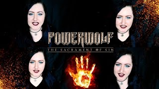 POWERWOLF 🔥 Nightside of Siberia | cover by Andra Ariadna
