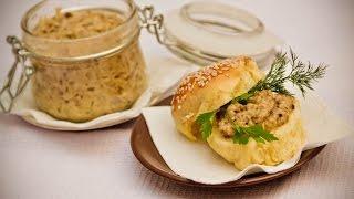 Грибная икра. Рецепт грибной икры. Икра из белых грибов.(Грибная икра это идеальная закуска, начинка для тарталеток. Икра из грибов хорошо сочетается с зеленью,..., 2016-10-01T21:18:30.000Z)