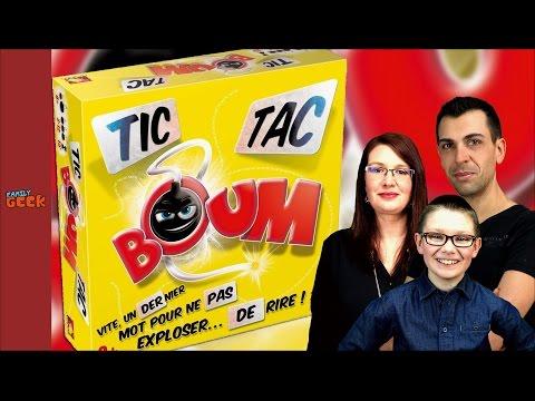 TIC TAC BOUM ! Qui fera exploser la bombe en famille ?