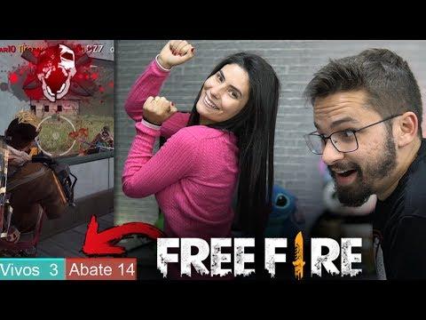 MINHA NAMORADA DANÇOU A CADA 1 KILL QUE EU FIZ no FREE FIRE