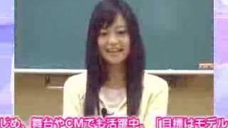 CM 小林涼子.