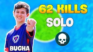 Sen Bugha Obtient 'RECORD' 62 Kills Solo..! | Compilation Fortnite