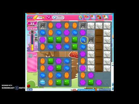 Candy Crush Level 2613 help w/audio tips, hints, tricks