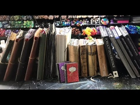 Art Journals and Mixed Media Flips!