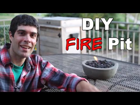 Build Cool DIY Gel Fire Pits — by Home Repair Tutor