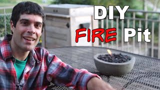 Build Cool Diy Gel Fire Pits -- By Home Repair Tutor