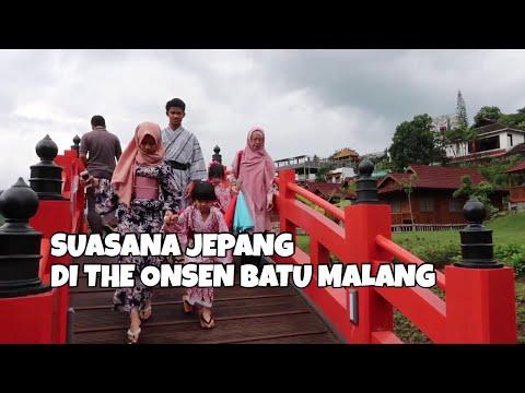 The Onsen Resort Batu Menikmati Suasana Jepang Dan Berendam Air Panas Youtube