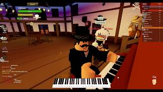 Playing Grief And Sorrow from Naruto on The Wild West (Roblox)